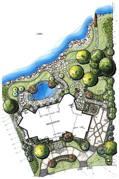 pindennis terry on landscape architecture plan renderings
