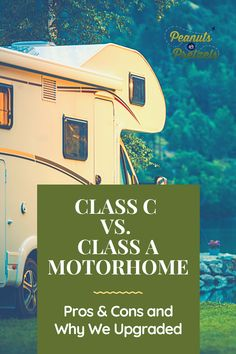 Some of you may remember when we bought our first Class C motorhome on a whim a few years ago. We were ecstatic to find a great motorhome to enjoy the RV travel lifestyle; however, after a while, we discovered that there were some advantages and disadvantages to the Class C. And eventually, those disadvantages led us to upgrade to a Class A motorhome.