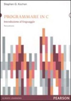 Prezzi e Sconti: #Programmare in c stephen g. kochan  ad Euro 22.95 in #Pearson addison wesley #Media libri informatica web