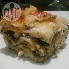 Foto recept: Pesto Lasagne