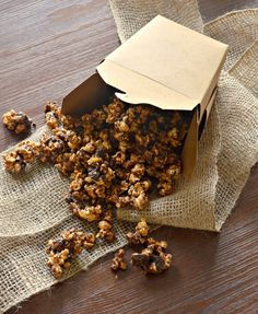 Chocolate Caramel Popcorn This chocolate caramel popcorn recipe is a guest blogger submission. This popcorn is seriously addictive. Drenched in rich, buttery salted caramel, baked until perfectly c...http://livedan330.com/2015/11/01/chocolate-caramel-popcorn/