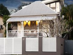 17 Annie Street, Auchenflower, Qld 4066 French doors for bedroom - shutters on inside