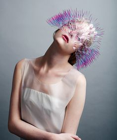 If Björk Went To The Kentucky Derby, She'd Wear This #refinery29  http://www.refinery29.com/maiko-takeda