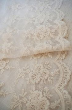 Items similar to Ivory cotton embroidered Lace trims, French lace trimming for bridal dress costume dress sewing accessories on Etsy Embroidered Lace Fabric, Lace Embroidery, Lace Applique, Retro Floral, Floral Lace, Craft Accessories, Rose Lace, Linens And Lace, Lace Doilies