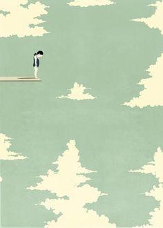 Alessandro Gottardo - SHOUT - Free yourself. Illustratore italiano dallo stile essenziale