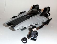 Black stripe A wing #LEGO #StarWars