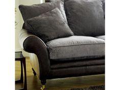 The English Sofa Company | The Atlanta Leather Fabric Sofa Range