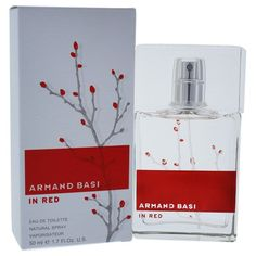 Armand Basi 'Armand Basi In Red' Women's 1.7 oz Eau de Toilette Spray, Orange