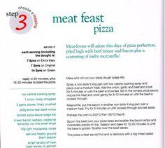 Meat feast pizza Meat Feast Pizza, Meat Lovers Pizza, Slimming World Pizza