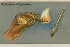 "HOW TO LIGHT A MATCH IN THE WIND  ""The familiar difficulty of lighting a match in the wind can be to a great extent overcome if thin shavings are first cut on the match towards its striking end, as shown in the picture. On lighting the match, the curled strips catch fire at once; the flame is stronger and has a better chance."""