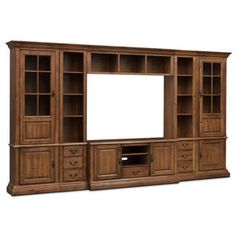 huxley 4 pc wall unit java maple ideas for the house pinterest living rooms walls and room