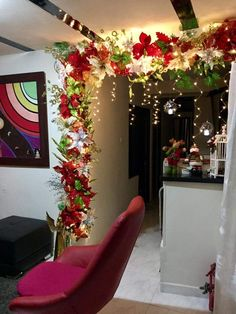 Exceptional Christmas deco info are offered on our site. Diy Christmas Garland, Christmas Party Decorations, Christmas Door, Simple Christmas, Beautiful Christmas, Christmas Holidays, Holiday Decor, Christmas Feeling, Christmas Events