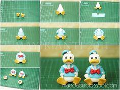 Donald Duck Fondant Figurine