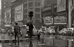 Times Square, 1940s