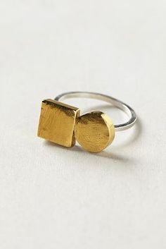 Hey Murphy Duo Shapes Ring - anthropologie.com #anthroregistry