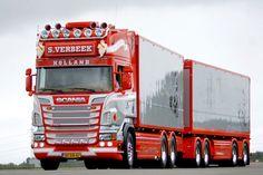 SCANIA truck .
