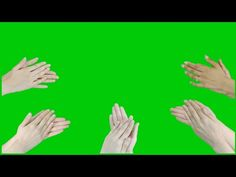 Claping Hands Green Screen Effect Video Green Screen Video Backgrounds, Youtube Banner Backgrounds, Green Background Video, New Background Images, Youtube Banners, New Backgrounds, Vídeos Youtube, Youtube Logo, Chroma Key