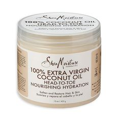 Shea Moisture Extra Virgin Coconut Oil Head-To-Toe 15 fl. The Effective Pictures We Offer You About simple Beauty Routine A quality picture ca Simple Beauty Routine, Beauty Routines, Head To Toe, Beauty Routine Calendar, Coffee Face Scrub, French Beauty Secrets, Cucumber Beauty, Coconut Benefits, Extra Virgin Coconut Oil