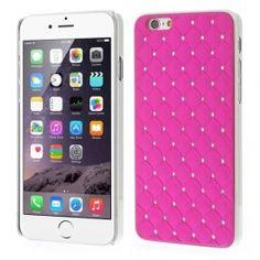 iPhone 6 hot pink luksus kuoret