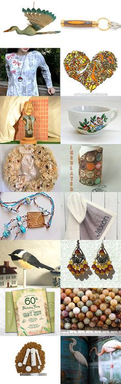 Wading Birds by Suzanne Edwards on Etsy--Pinned+with+TreasuryPin.com