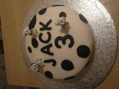 Dalmation cake for jack!