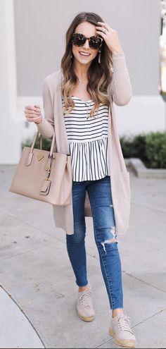 stripe summer top