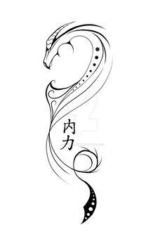 Dragon tattoo design by Silverdraken. - Dragon tattoo design by Silverdraken.devi … on Dragon tattoo design by Silverdraken. Small Dragon Tattoos, Dragon Tattoo For Women, Chinese Dragon Tattoos, Dragon Tattoo Designs, Dragon Tattoo Simple, Tribal Dragon Tattoos, Neue Tattoos, Body Art Tattoos, Bird Tattoos