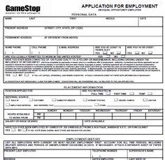gamestop job application form online jobs database more online job 5