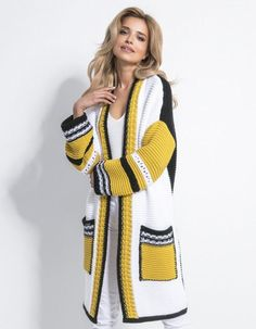 Bohemian fashion ideas, hippie clothing jacket, boho sweater Crochet Dress Outfits, Knit Baby Dress, Crochet Cardigan, Crochet Shawl, Crochet Clothes, Knit Crochet, Crochet Pattern, Diy Summer Clothes, Diy Clothes