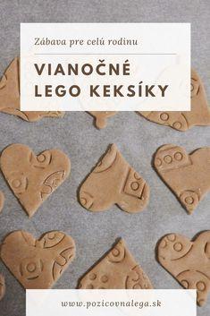 Lego sa dá využiť aj v kuchyni - upečte si s deťmi vianočné škoricové LEGO keksíky! Recept a postup nájdete v článku. Lego, Legos