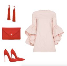 red and pink outfit   outfit ideas   fashion blog   fashion blogger   what to wear   style inspiration   spring outfit
