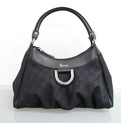 47995e98288 Gucci Summer 2014 Hangbag Luxury Hangbag Housewives Housewife Wife Life  2014 Black Canvas Shoulder Bag off retail