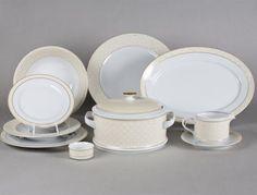 jídelní souprava Sabina 25- dílná - Užitkový porcelán - Jídelní soupravy