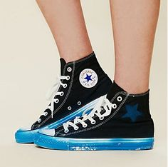 cool spray painted converse