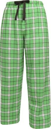 Merry  Christmas  Family Pajamas Kelly Green Flannel Pant