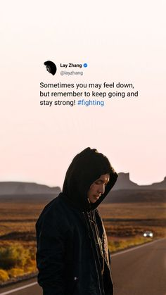 K Quotes, Mood Quotes, Reminder Quotes, Tweet Quotes, Positive Quotes, Motivational Quotes Wallpaper, Wallpaper Quotes, Exo For Life, Exo Songs