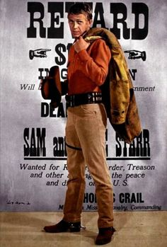 Steve McQueen as Josh Randall in Wanted Dead Or Alive