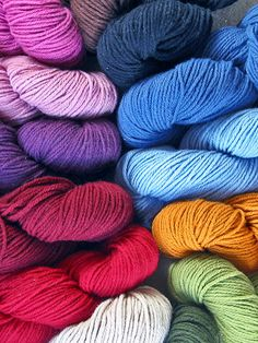 10 Eco Friendly Yarns You'll love from Better Homes and Gardens... 2 of the 10 are SWTC