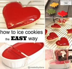 How to ice cookies with no piping bag