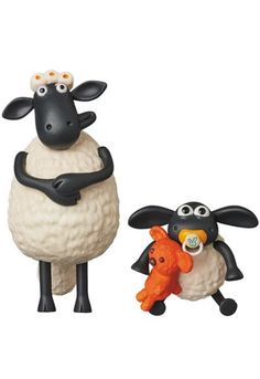 UDF Ultra Detail Figure Aardman Animations # 2 Timmy & Timmy mom each Hei Mums For Sale, Sheep Fondant, Eid Boxes, Baby Sheep, Shaun The Sheep, Mode Shop, Binky, Felt Ornaments, Mom And Baby