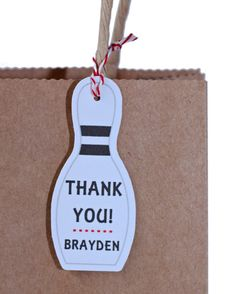 Bowling party favors bowling party bags bowling by ILoveYouBunches Party Gift Bags, Party Favor Tags, Party Gifts, Bowling Party Themes, Bowling Party Invitations, Invites, Birthday Treat Bags, Birthday Parties, 10th Birthday