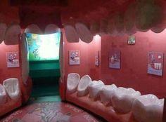 authentique salle d'attente d'un cabinet de dentiste