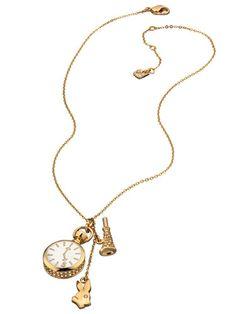 Swarovski Alice in Wonderland inspired necklace