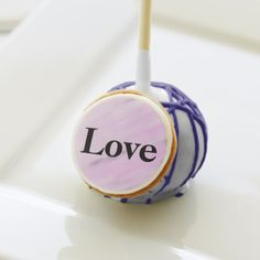 Violet Watercolor Love Wedding Favors - home gifts ideas decor special unique custom individual customized individualized