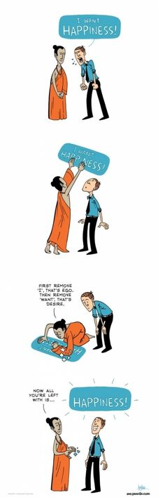 How Buddhism works. And how life works!