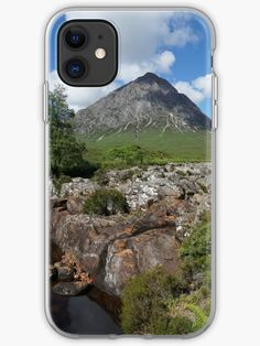 'Buachaille Etive Mor the Highlands , Scotland' iPhone Case by David Rankin Highlands Scotland, Iphone Case Covers, Cover Design, David, Artists, Unique, Pictures, Photos, Grimm