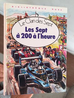 A superb french vintage classic tale: a great Gift for her, or perhaps a back to school gift.  This story is from the Enid Blyton, Secret Seven series. This books title is: Le clan des Sept/ Les sept a 200 a lheure ( The secret seven, The Seven at 200 mph!).  A great french read, excellent for boosting your french vocabulary in an easy and fun way; this book contains great black and white illustrations and also some in colour too. Myself and my children, as non French mother tongue peopl...