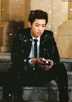 The saddest part of the Miracles in December MV is seeing Chanyeol unhappy.
