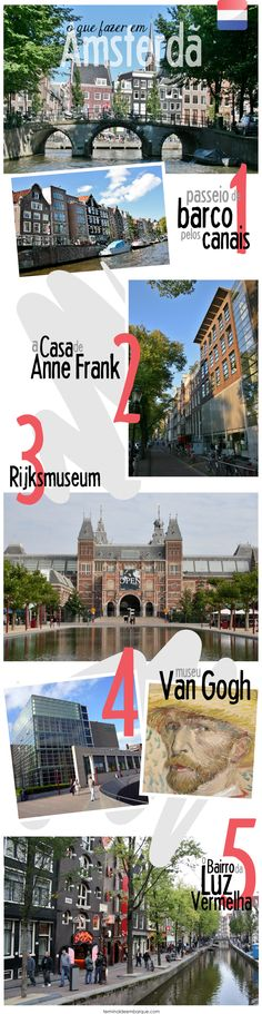 O que fazer em Amsterdã                                                                                                                                                                                 Mais