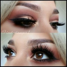 those lashes are everything, look is flawless!